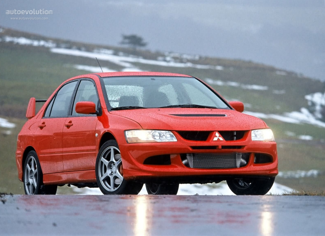 spoiler mitsubishi modified lancer viii evolution sale lip magazine front for features