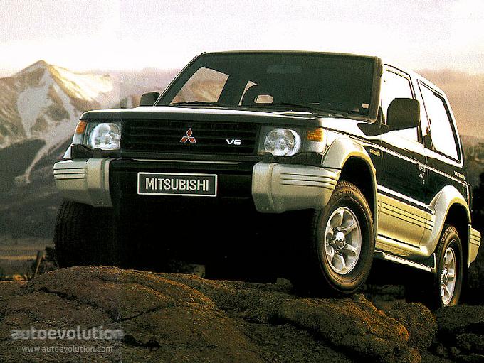 Mitsubishi Pajero 3 Doors 1992 1993 1994 1995 1996