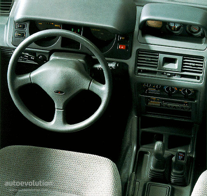 Mitsubishi Pajero 5 Doors 1992 1993 1994 1995 1996