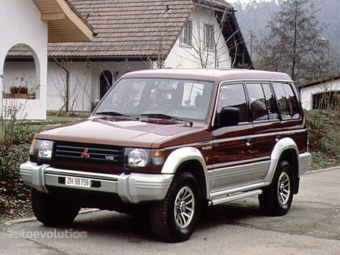 Mitsubishi Pajero 5 Doors 1992 on 92 acura 3 2 engine