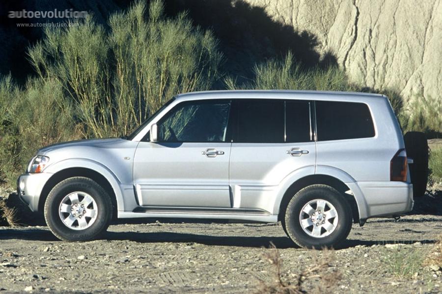 mitsubishi pajero montero shogun lwb   2003 2004 2005