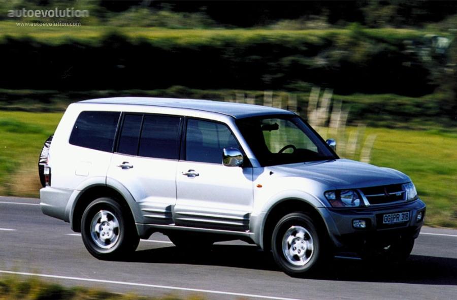 Mitsubishi pajero montero shogun lwb specs 2000 2001 2002 2003 autoevolution