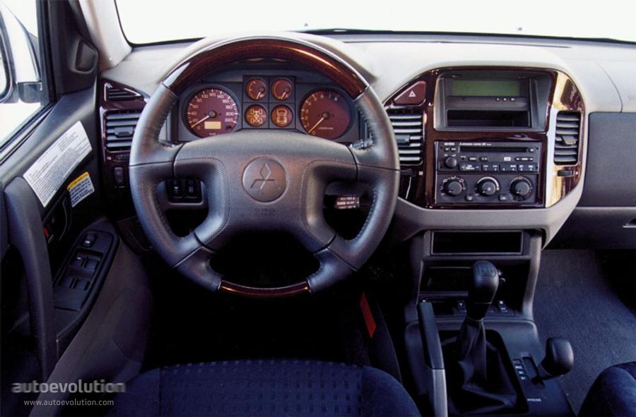 Mitsubishi montero interior for Mitsubishi montero interior
