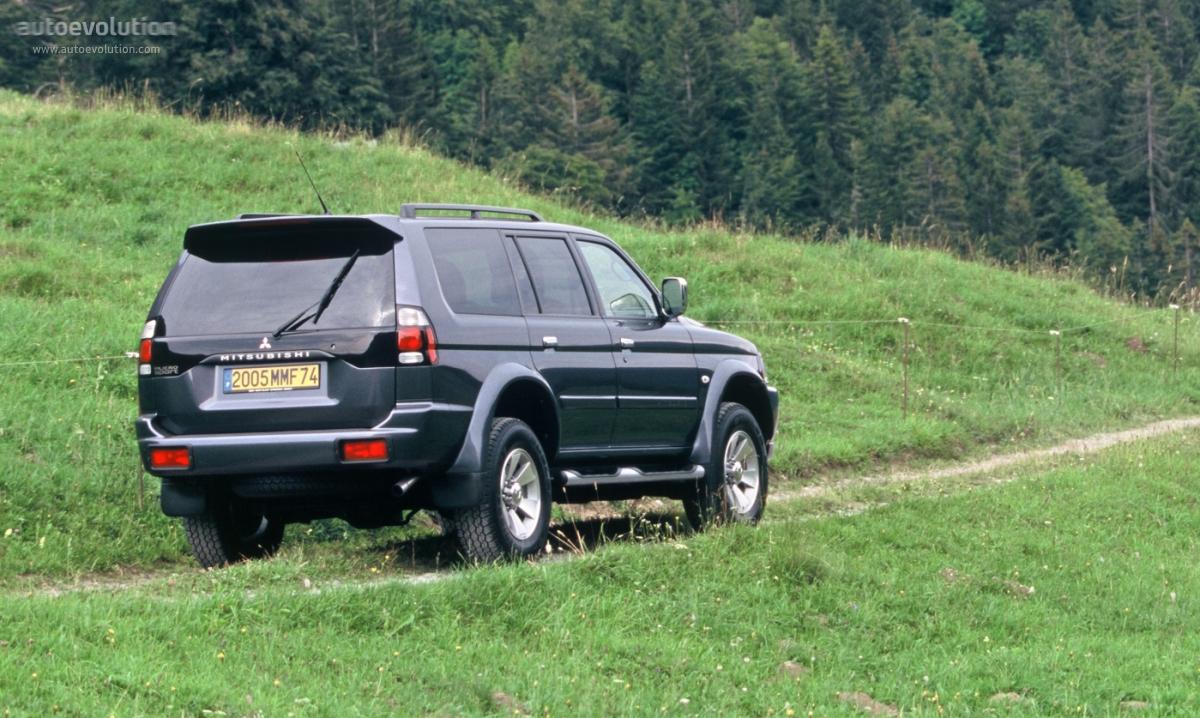 Mitsubishi pajero montero shogun sport specs 2004 2005 2006 2007 2008 autoevolution