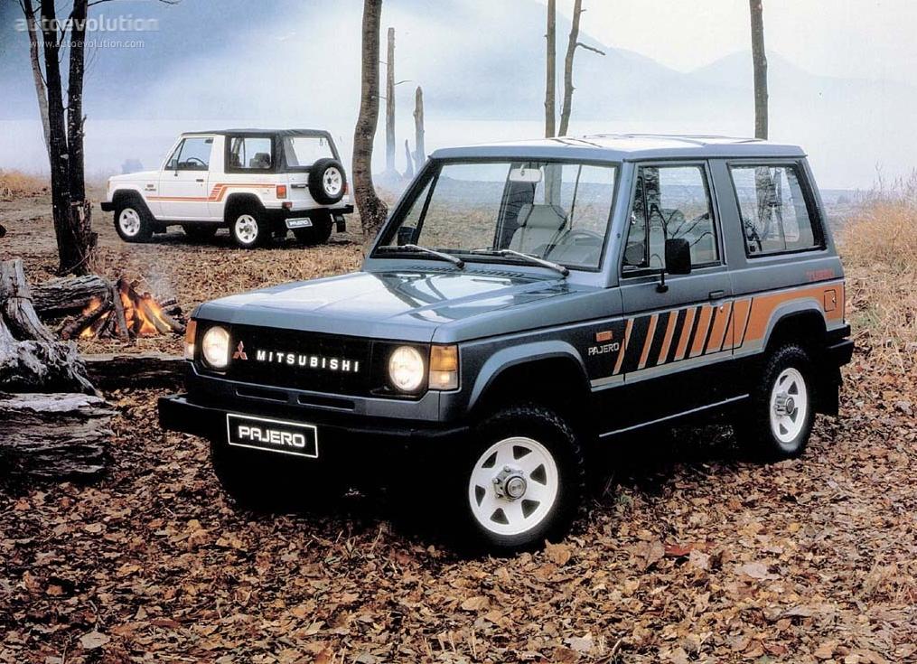 mitsubishi pajero 3 doors specs   1982 1983 1984 1985 1986 1987