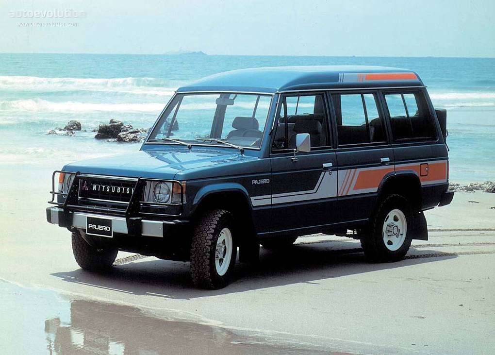 MITSUBISHI Pajero Wagon specs - 1986, 1987, 1988, 1989, 1990 - autoevolution