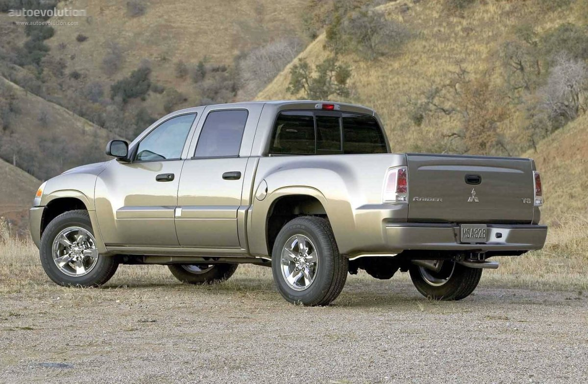 2006 Dodge Dakota >> MITSUBISHI Raider Double Cab specs - 2005, 2006, 2007, 2008, 2009 - autoevolution