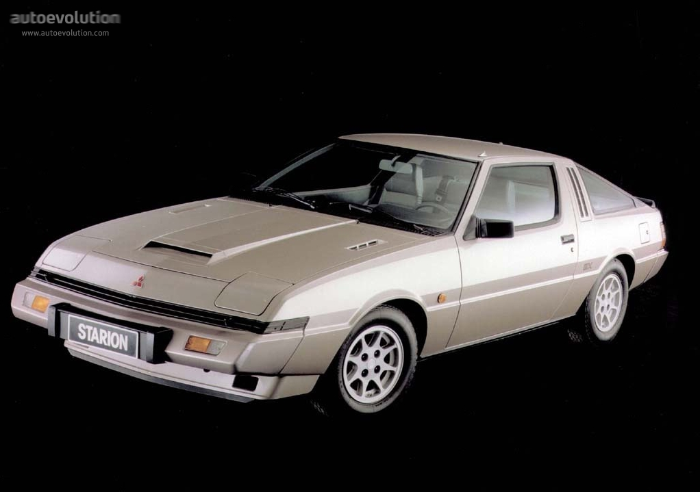 Mitsubishi Starion 1982 1983 1984 1985 1986 1987