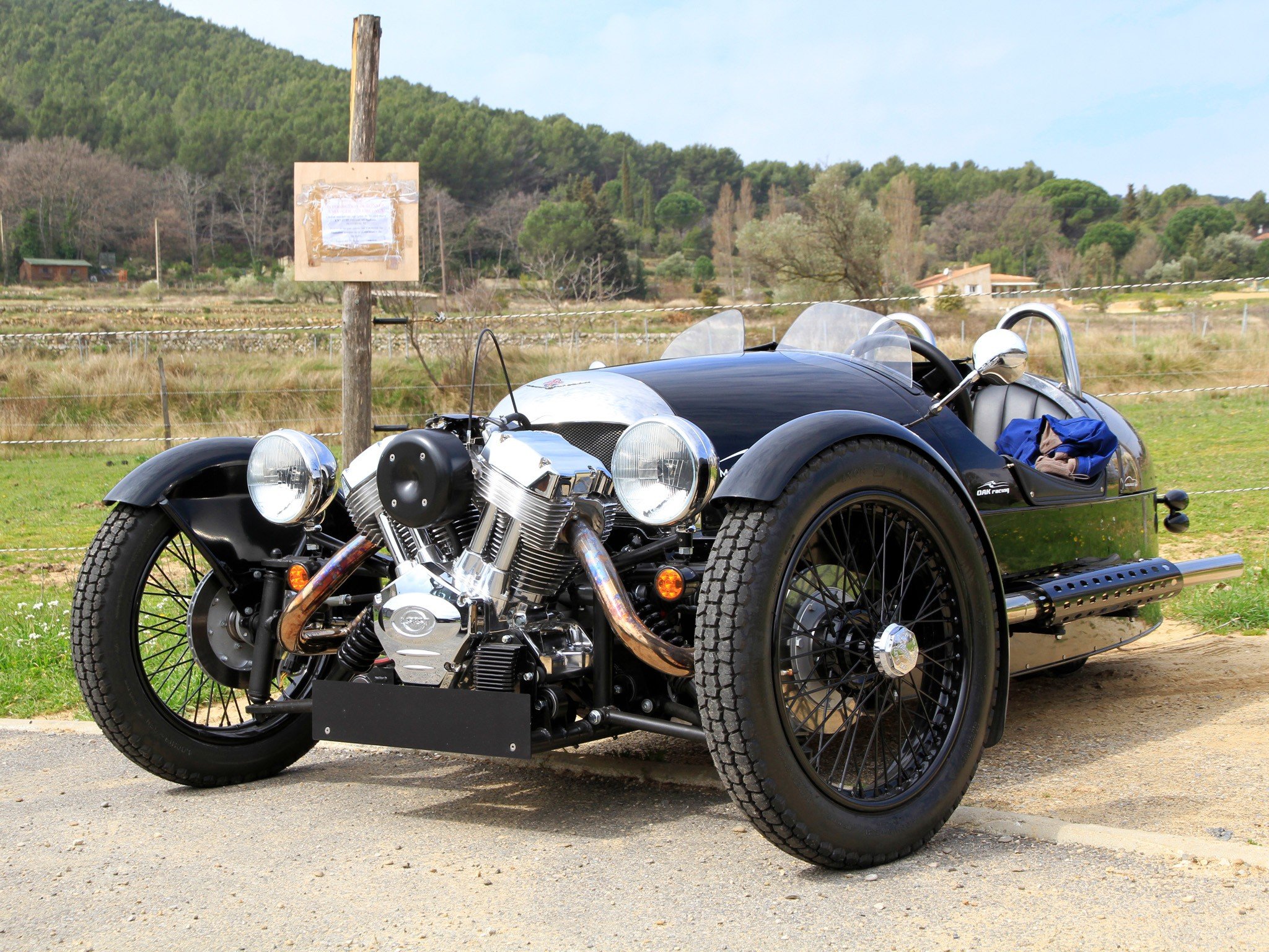 Morgan 3 Wheeler 2011 2012 2013 2014 2015 2016