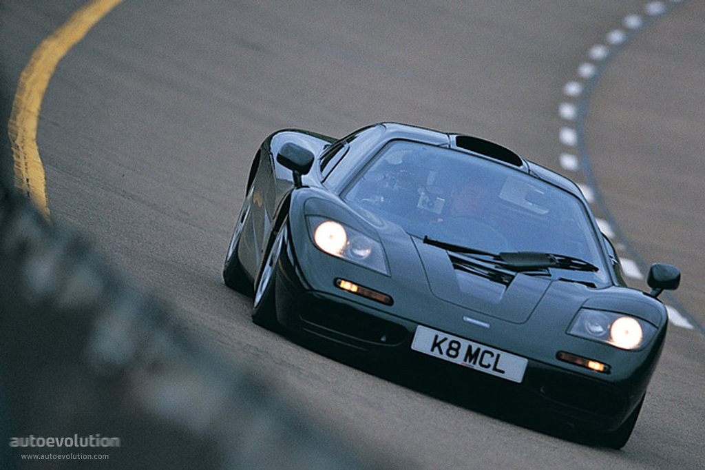 1998 Mclaren F1 1998 Mclaren F1 Silver Tom Hartley Jnr