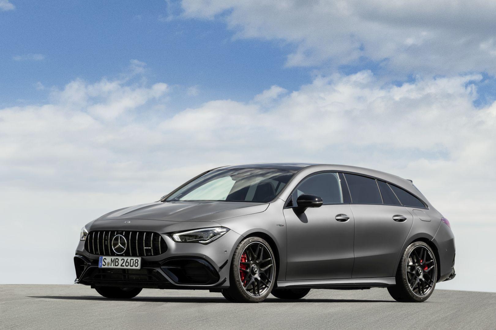 Mercedes-AMG CLA 45 4MATIC+ Shooting Brake specs & photos - 2019, 2020 - autoevolution