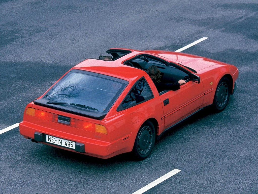 nissan 300 zx specs photos 1984 1985 1986 1987. Black Bedroom Furniture Sets. Home Design Ideas