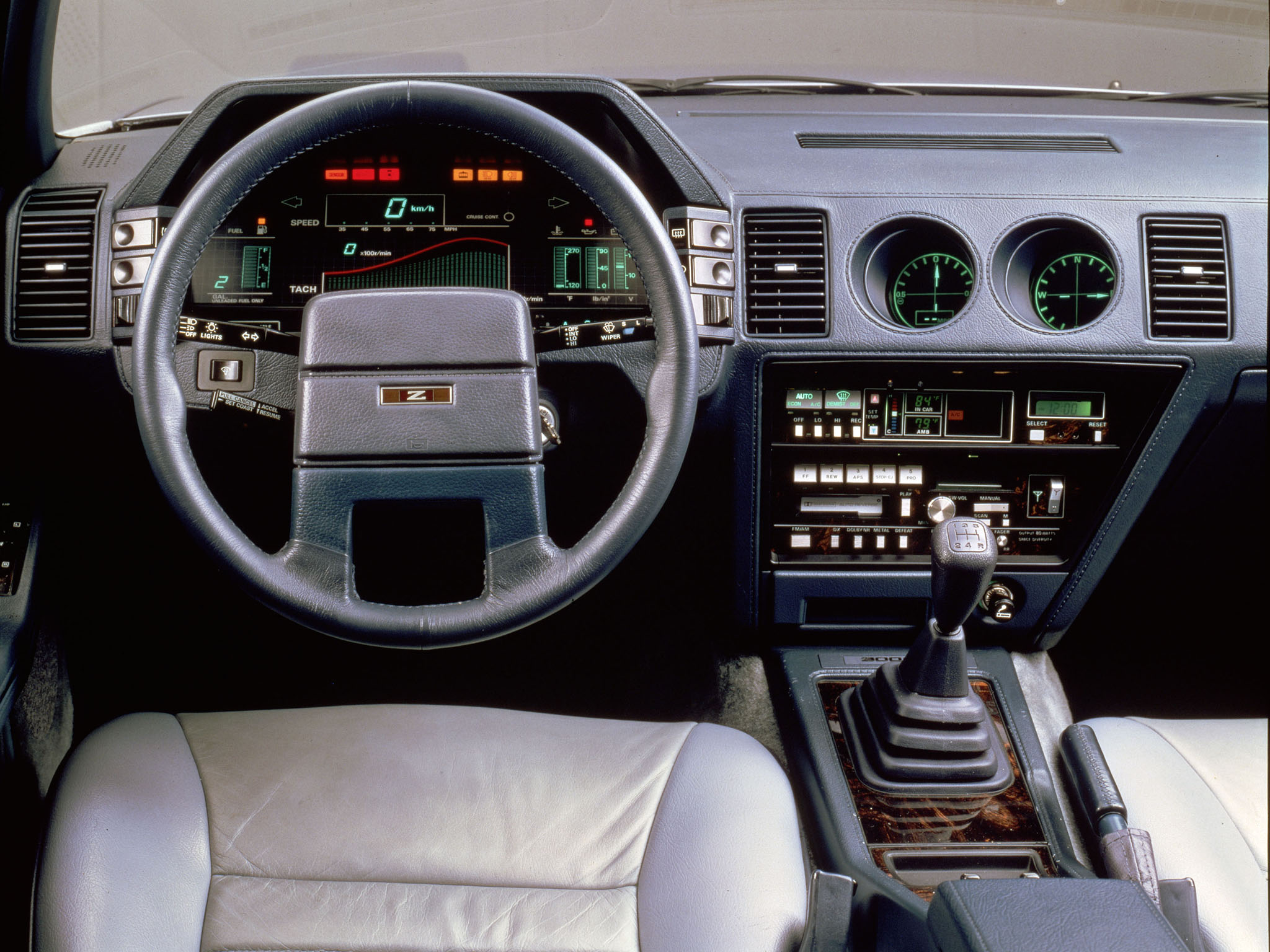 Nissan Zx on Nissan 300zx 3 0 1986 Specs And Images
