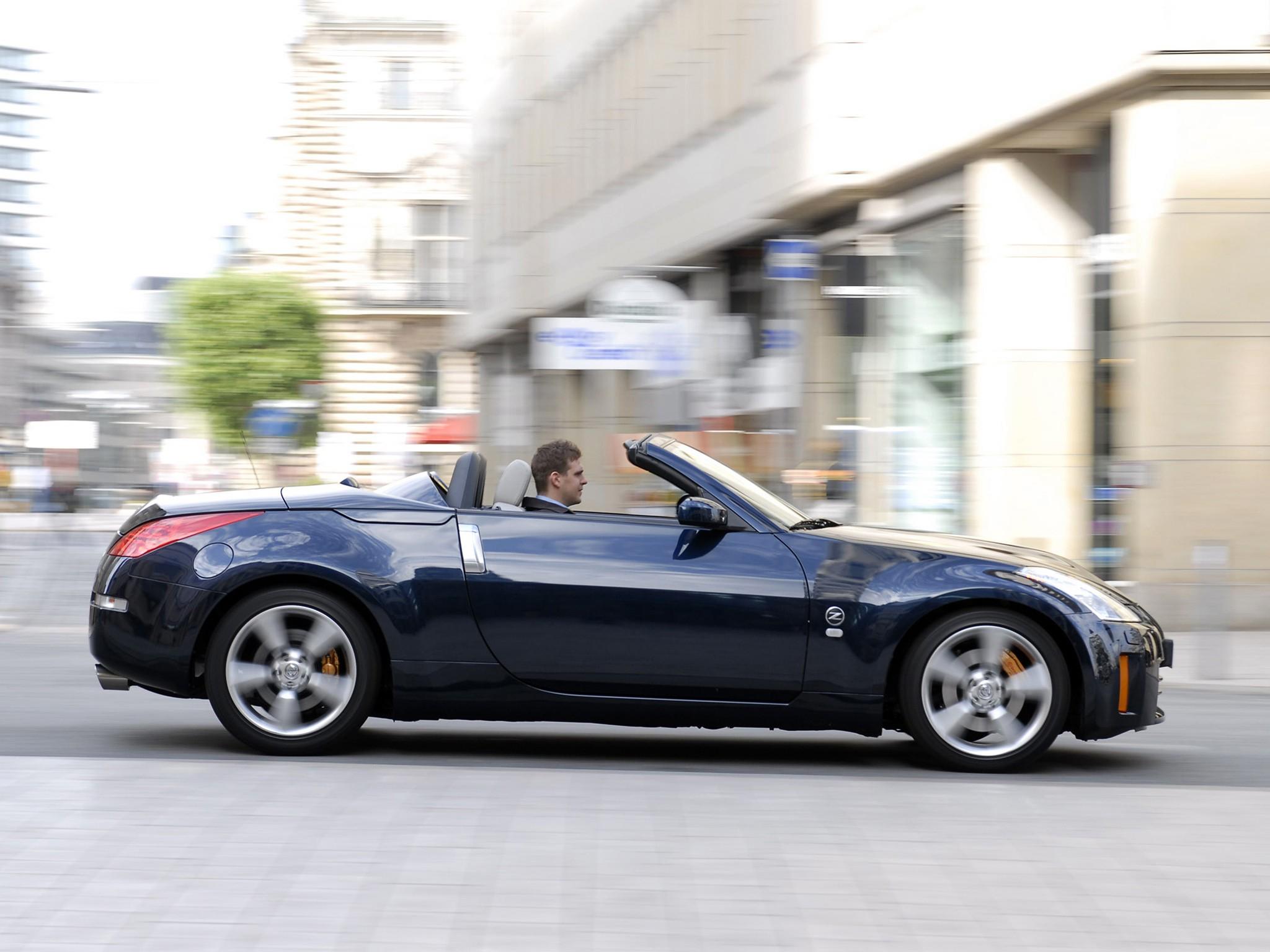 NISSAN 350Z Roadster specs & photos - 2008, 2009 ...