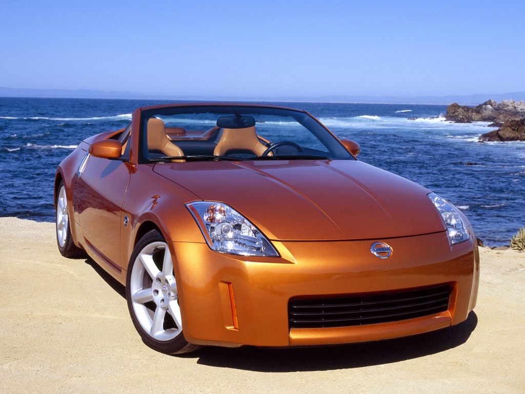 Nissan Z Roadster on Buick 350 Engine