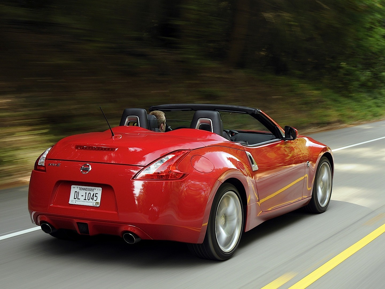 nissan 370z roadster specs 2009 2010 2011 2012. Black Bedroom Furniture Sets. Home Design Ideas
