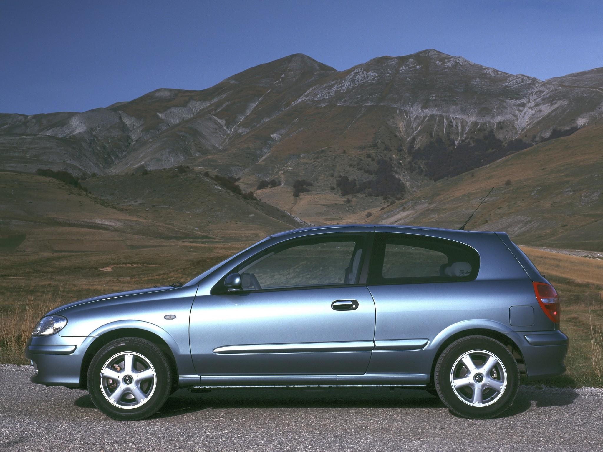 Gt Auto Sales >> NISSAN Almera / Pulsar 3 Doors specs & photos - 2000, 2001 ...