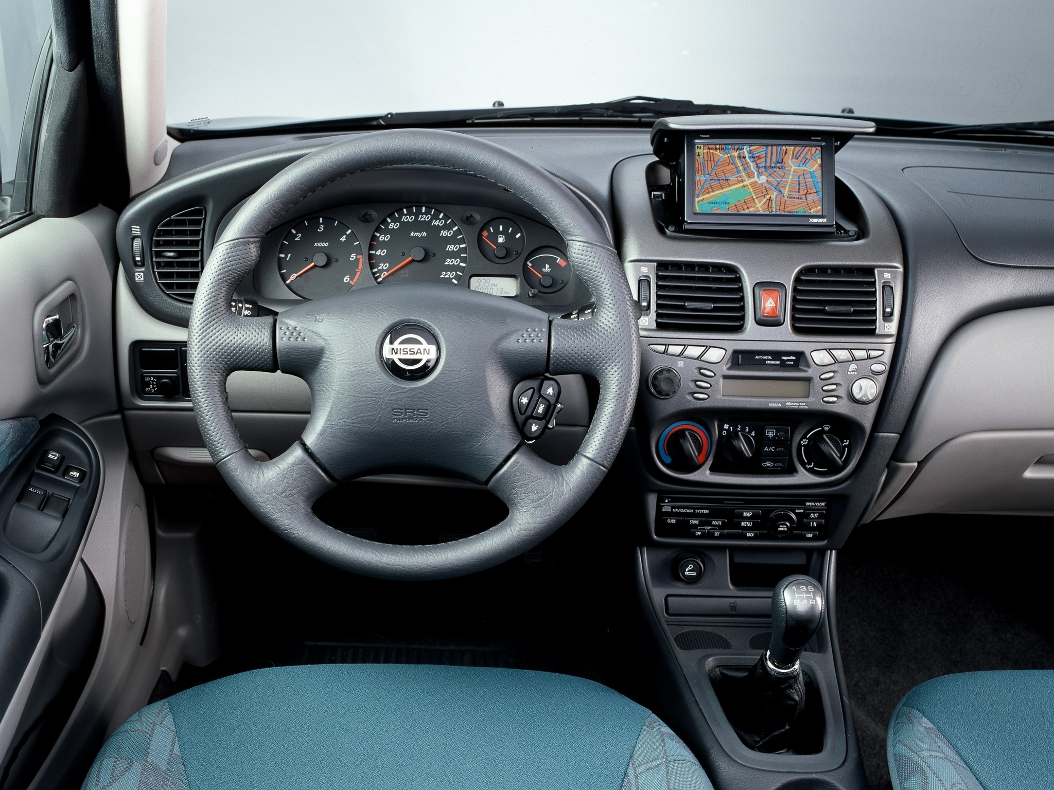 Nissan Almera Pulsar 5 Doors 2000 2001 2002