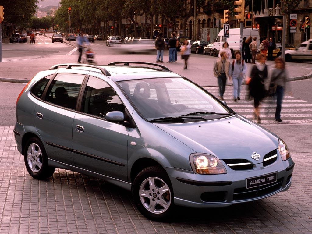 Nissan almera tino 2000 2001 2002 2003 2004 2005 for Nissan almera tino