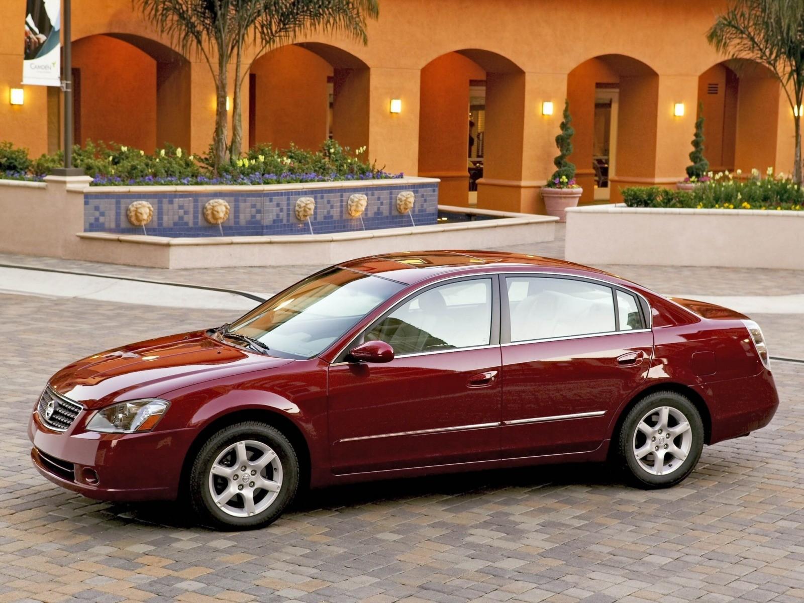 altima nissan 2002 2005 2006 se sedan restyling l31 doors cars autoevolution 1600 2004 front specs 2003 1200