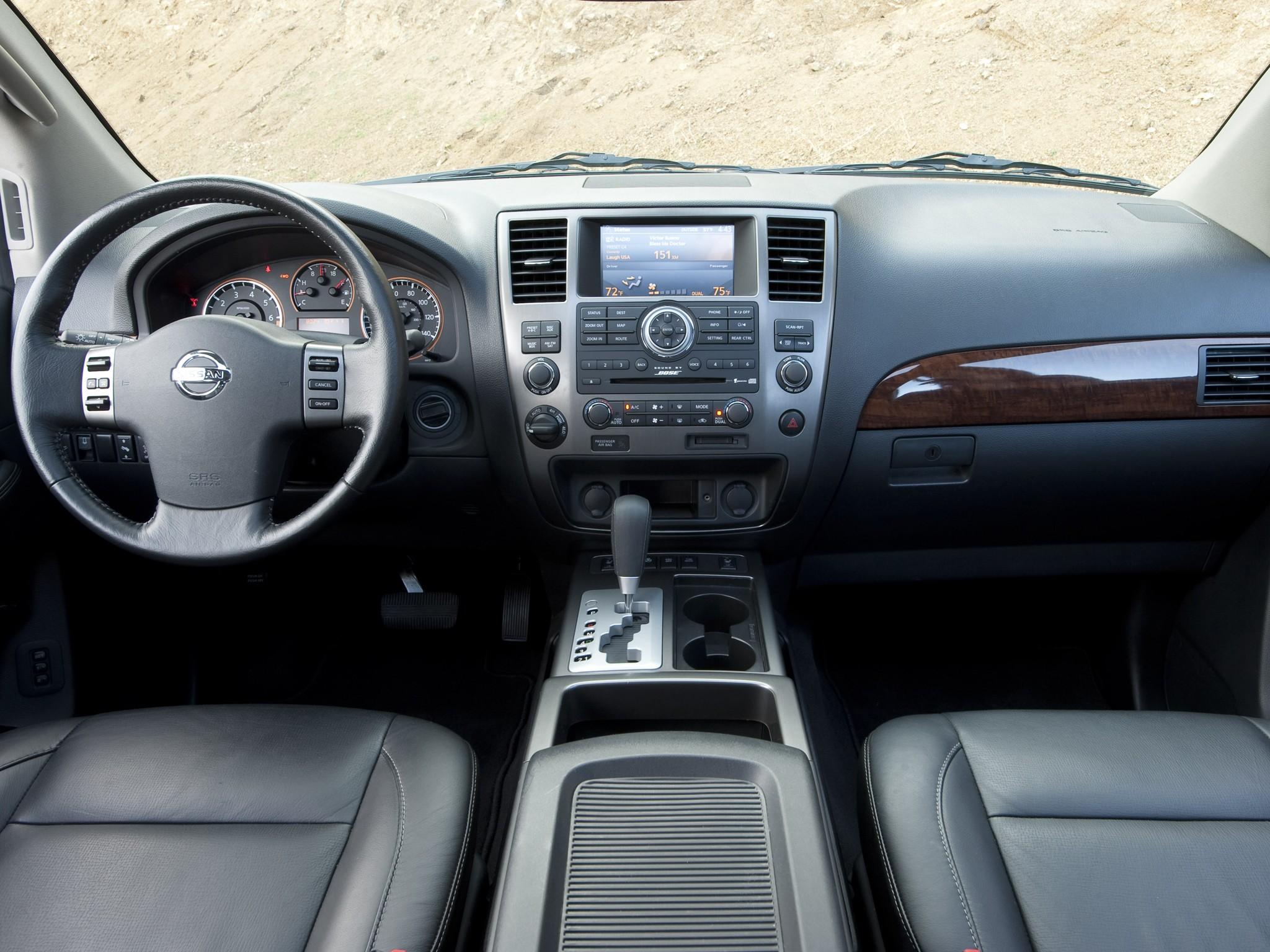 2006 Nissan Armada Interior Dimensions