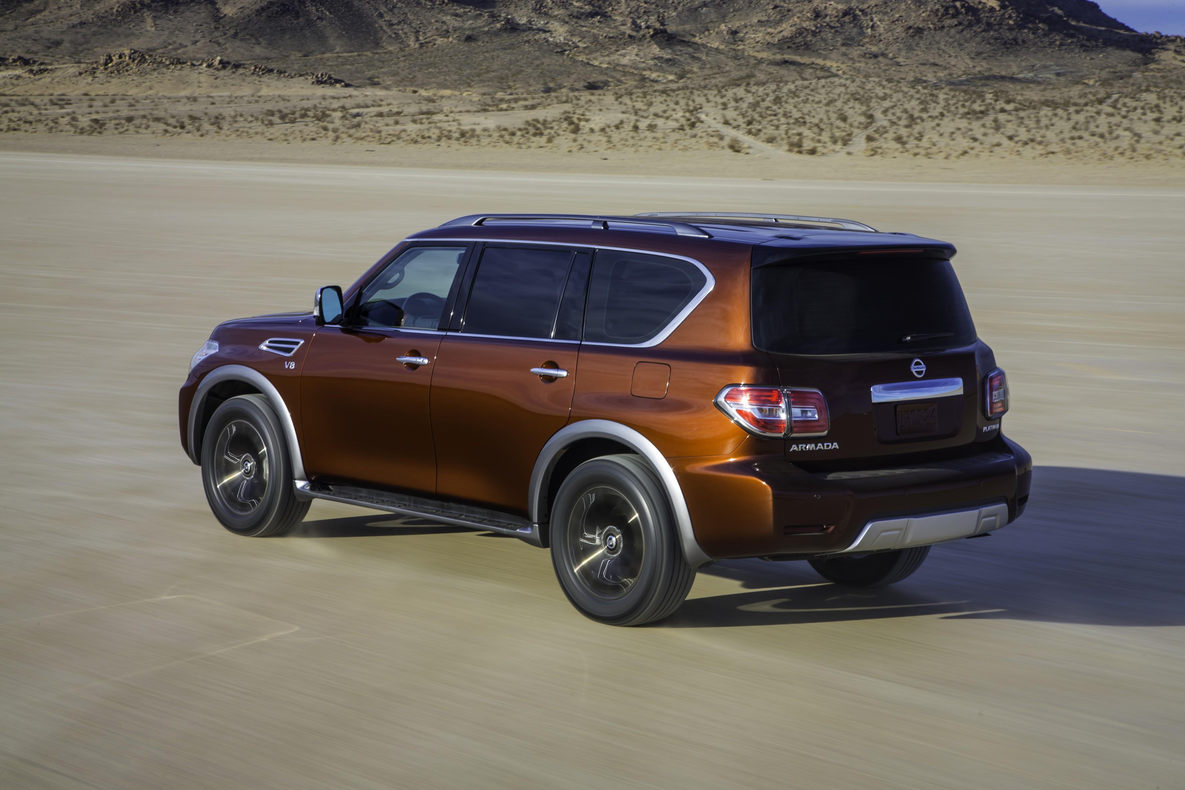 Nissan Armada 2016 Autoevolution