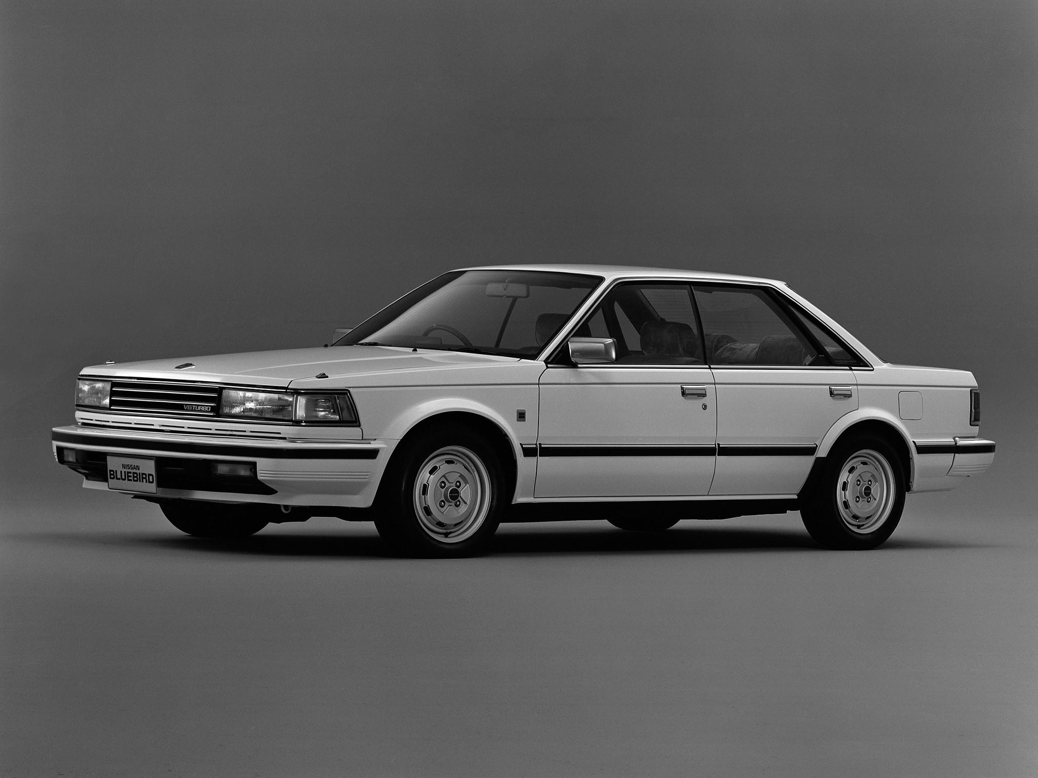... NISSAN Bluebird Sedan (1986 - 1990) ...