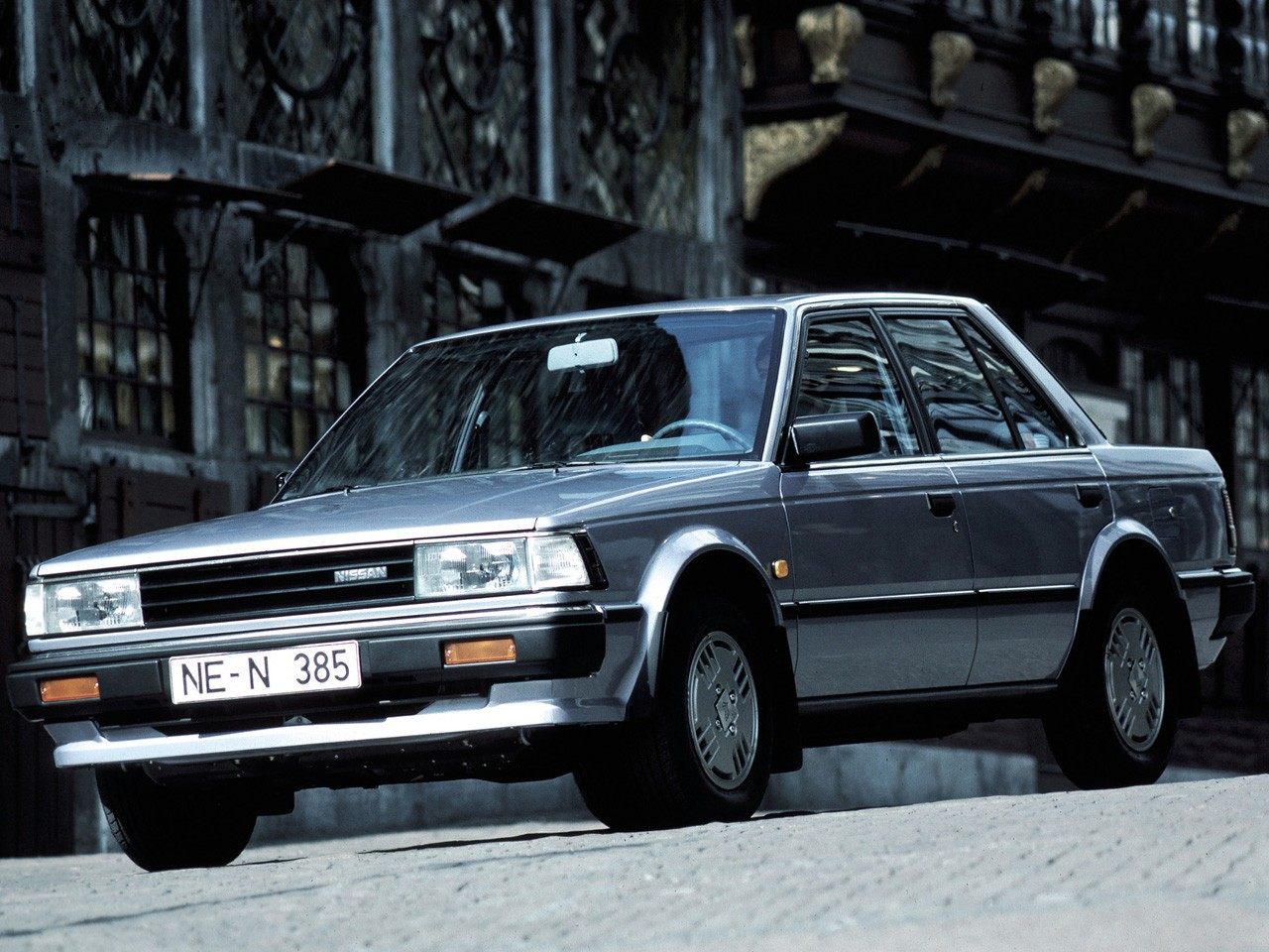 NISSAN Bluebird Sedan specs & photos - 1986, 1987, 1988 ...