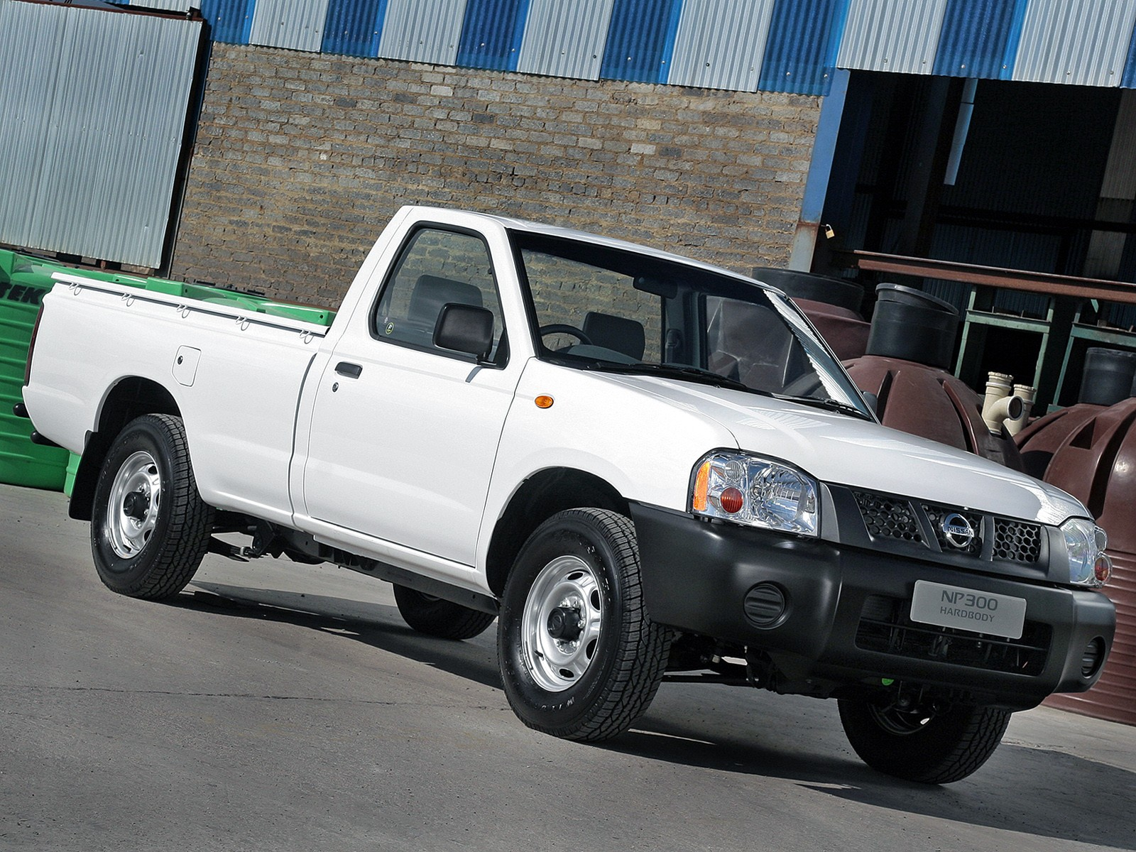 NISSAN NP300 Pickup Single Cab specs & photos - 2008, 2009 ...