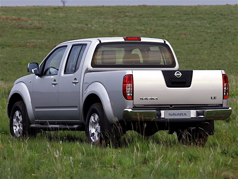 Nissan Navara Frontier Double Cab 2005 2006 2007