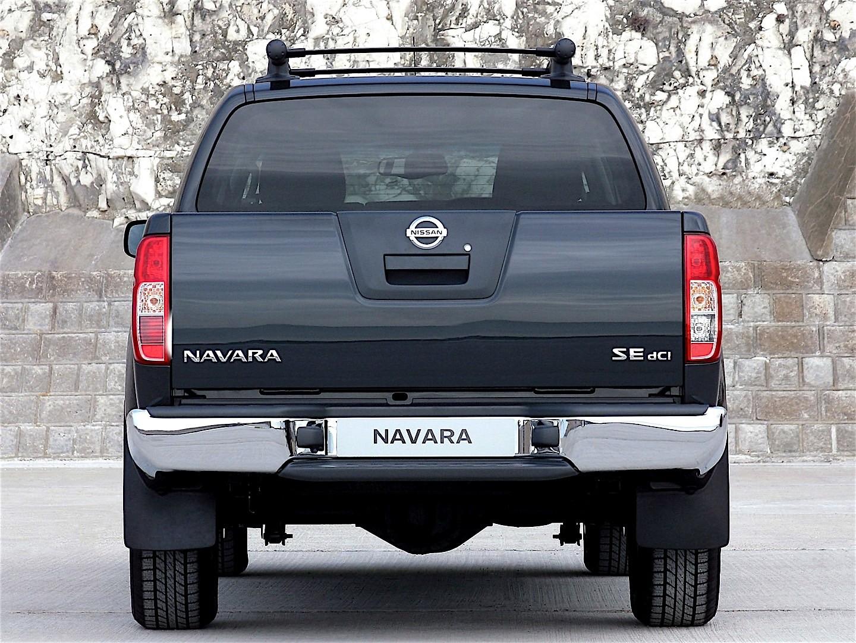 nissan navara frontier double cab 2005 2015