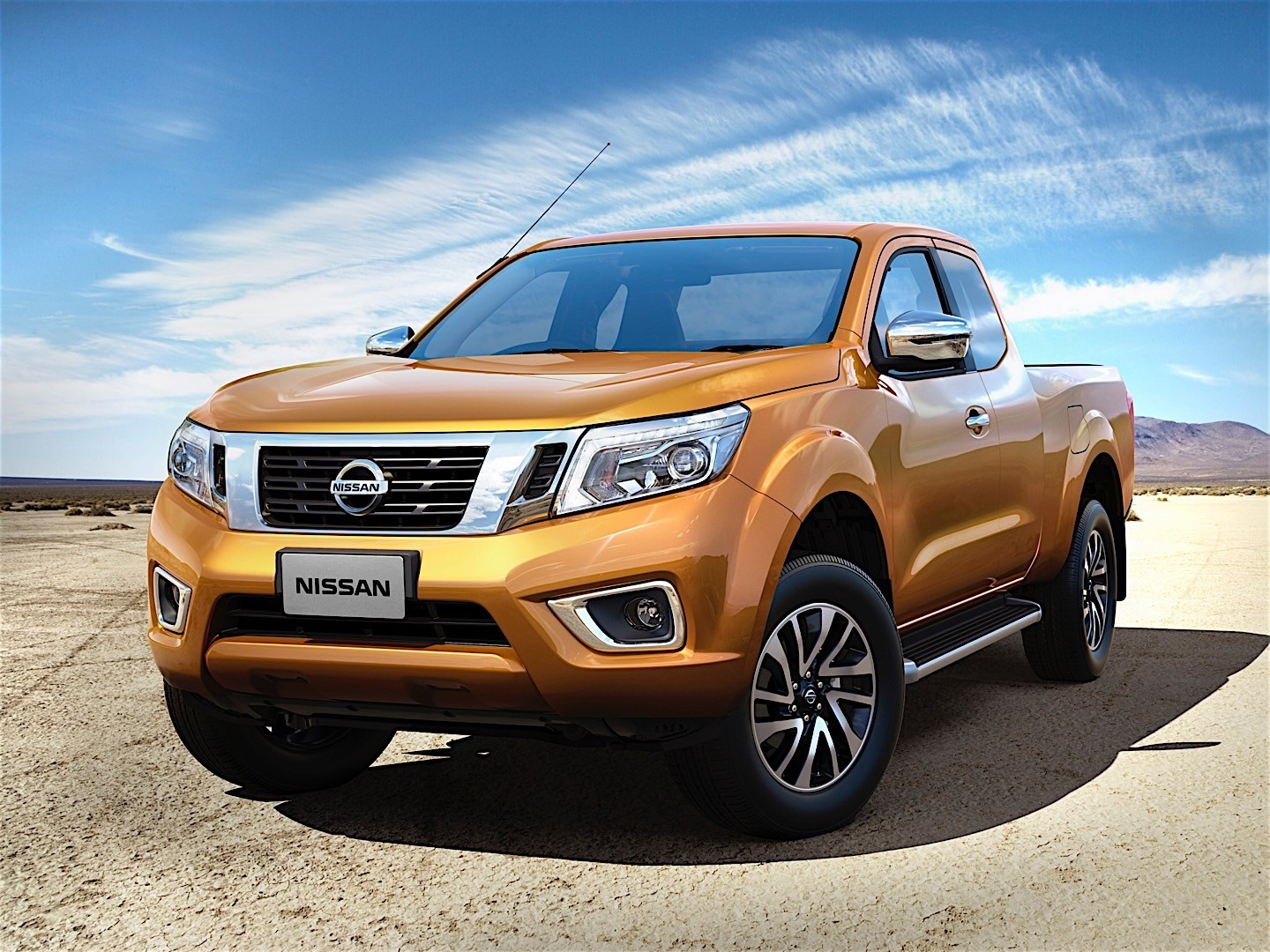 nissan navara np300 king cab 2015 2016 autoevolution. Black Bedroom Furniture Sets. Home Design Ideas
