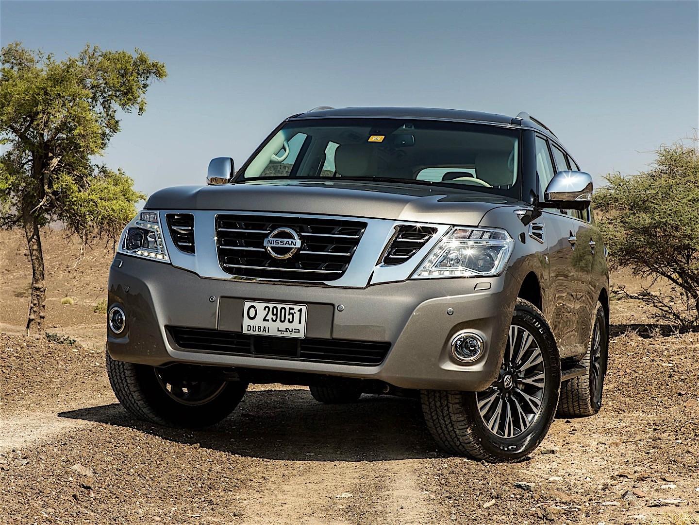 Nissan Patrol 2014 2015 2016 Autoevolution