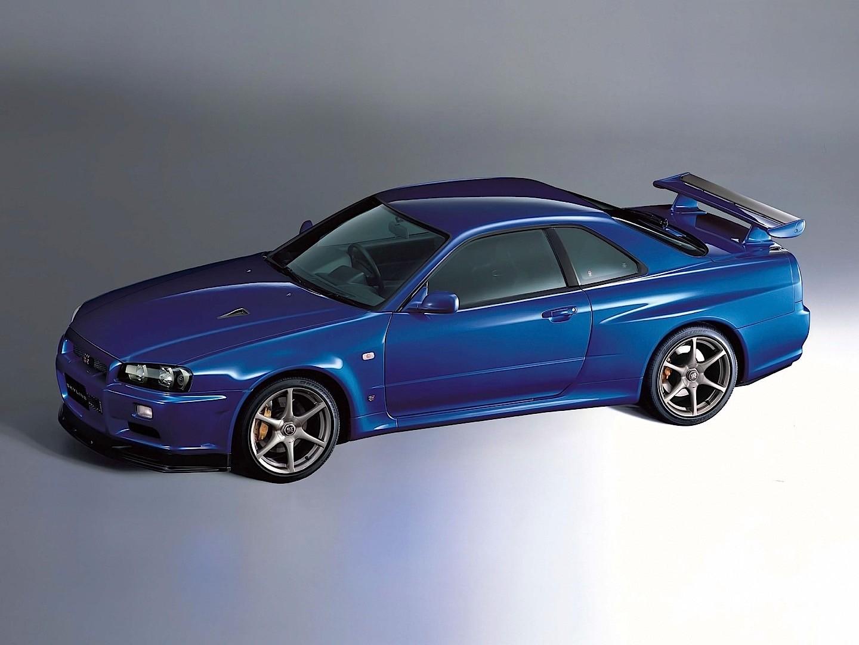 Nissan Skyline Gt R V Spec R34 1999 2000 2001 2002