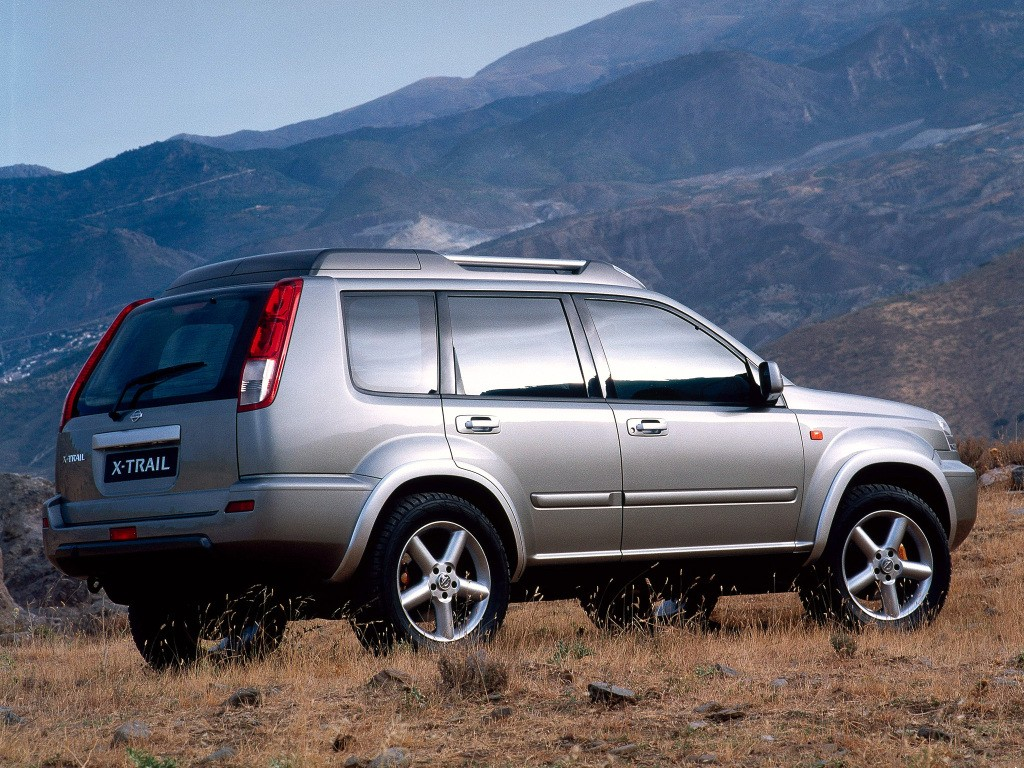 nissan x trail specs photos 2001 2002 2003. Black Bedroom Furniture Sets. Home Design Ideas