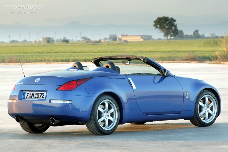 nissan 350z roadster specs photos 2005 2006 2007. Black Bedroom Furniture Sets. Home Design Ideas