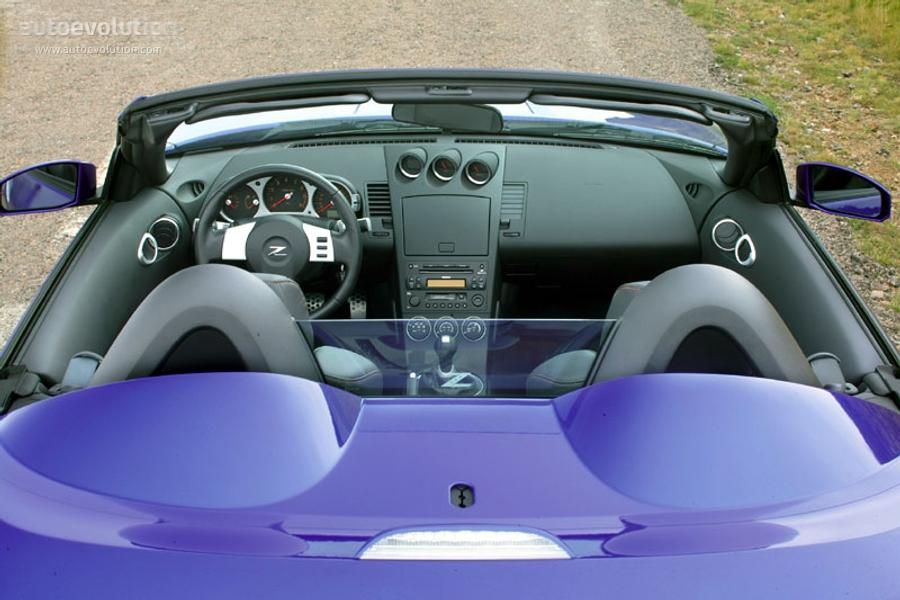 2005 nissan 350z roadster specs