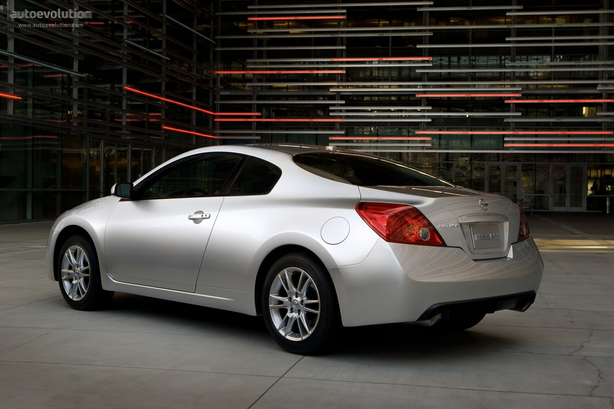 Nissan Altima Transmission >> NISSAN Altima Coupe - 2007, 2008, 2009, 2010, 2011, 2012 - autoevolution