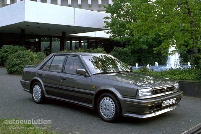 Nissan Bluebird Sedan 1986 on nissan sentra 1 6 engine