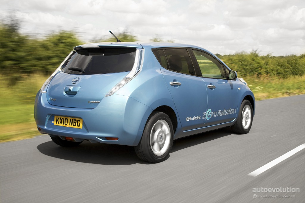 NISSAN Leaf specs & photos - 2010, 2011, 2012, 2013, 2014 ...