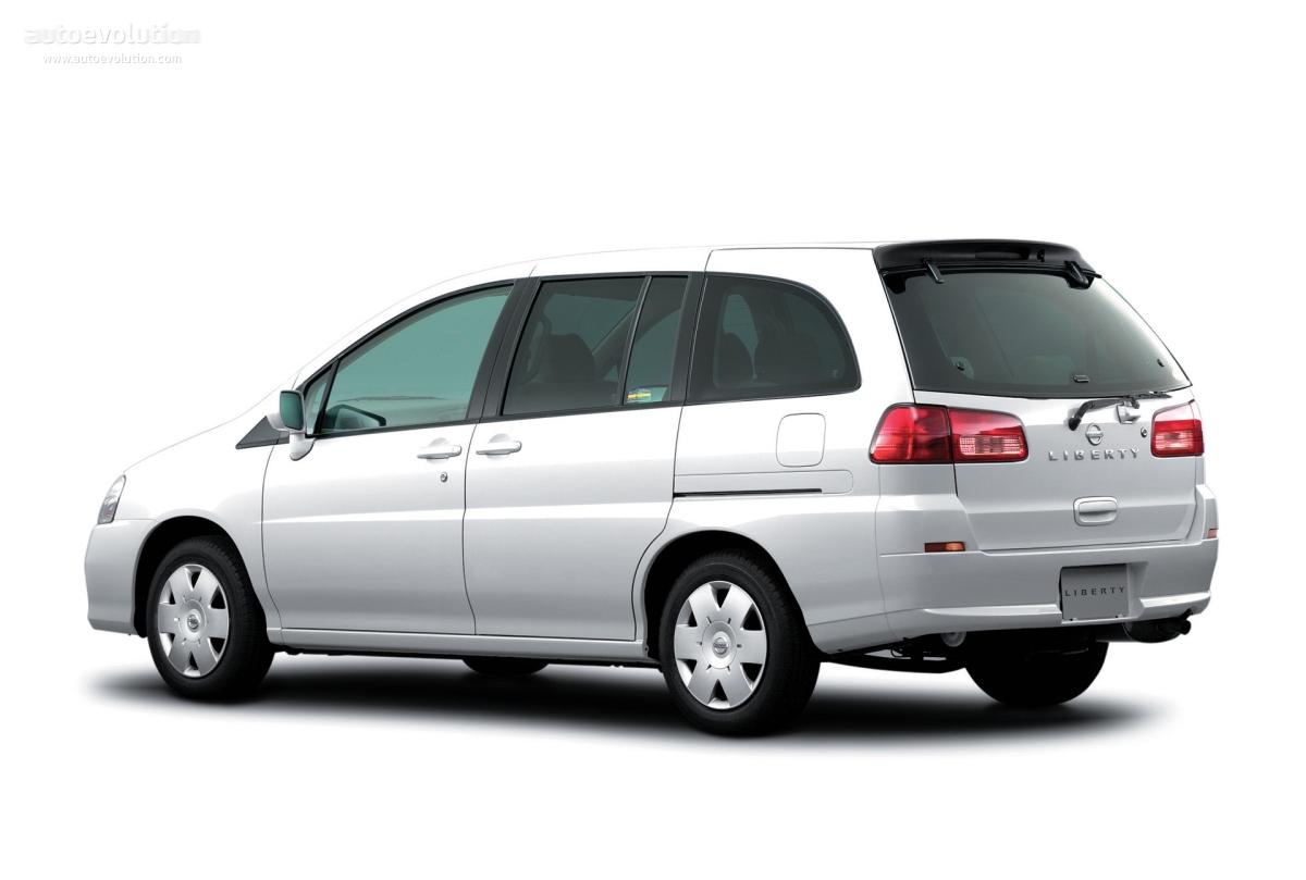 Nissan liberty specs 1999 2000
