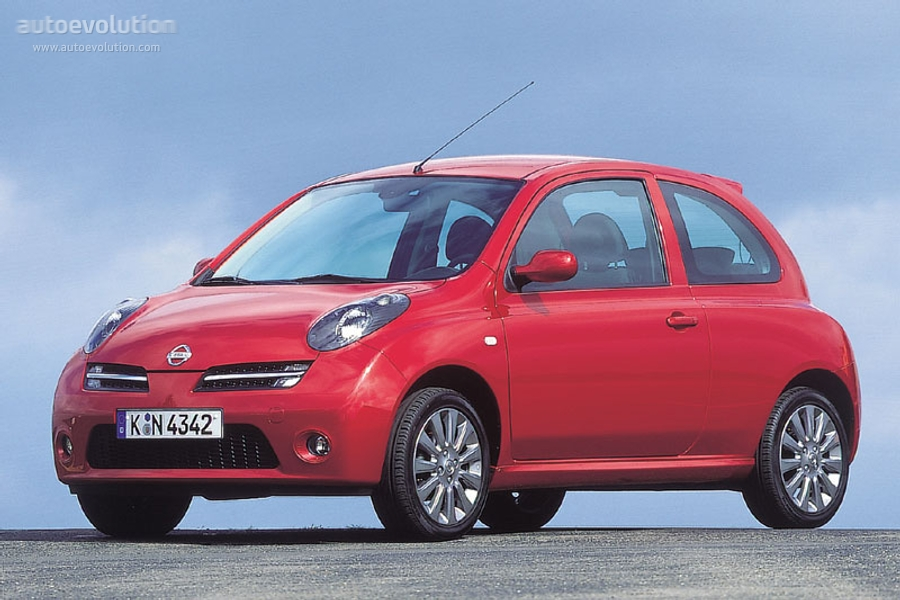 nissan micra 3 doors specs 2005 2006 2007 autoevolution. Black Bedroom Furniture Sets. Home Design Ideas