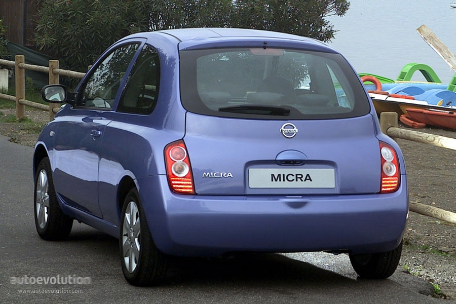 nissan micra 3 doors specs 2003 2004 2005 autoevolution. Black Bedroom Furniture Sets. Home Design Ideas