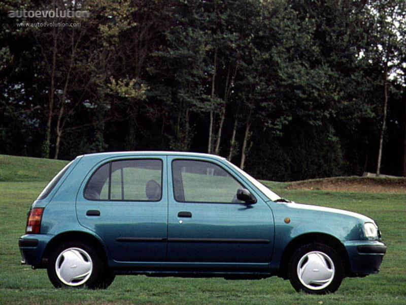 Nissan Micra 5 Doors 1992 1993 1994 1995 1996 1997