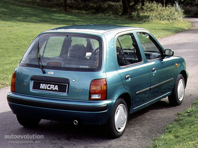 nissan micra 5 doors 1992 1993 1994 1995 1996 1997 1998 autoevolution. Black Bedroom Furniture Sets. Home Design Ideas