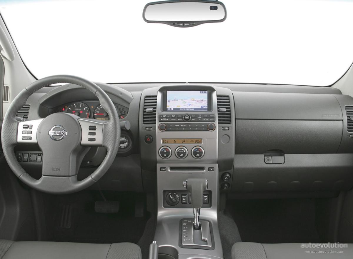 NISSAN Navara / Frontier Double Cab specs & photos - 2005 ...