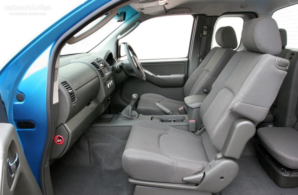 NISSAN Navara / Frontier King Cab specs - 2005, 2006, 2007 ...