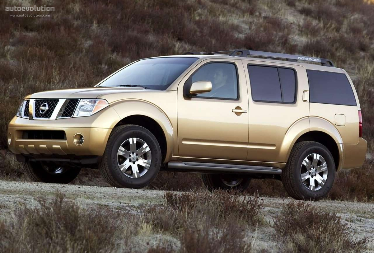 nissan pathfinder specs 2005 2006 2007 autoevolution. Black Bedroom Furniture Sets. Home Design Ideas