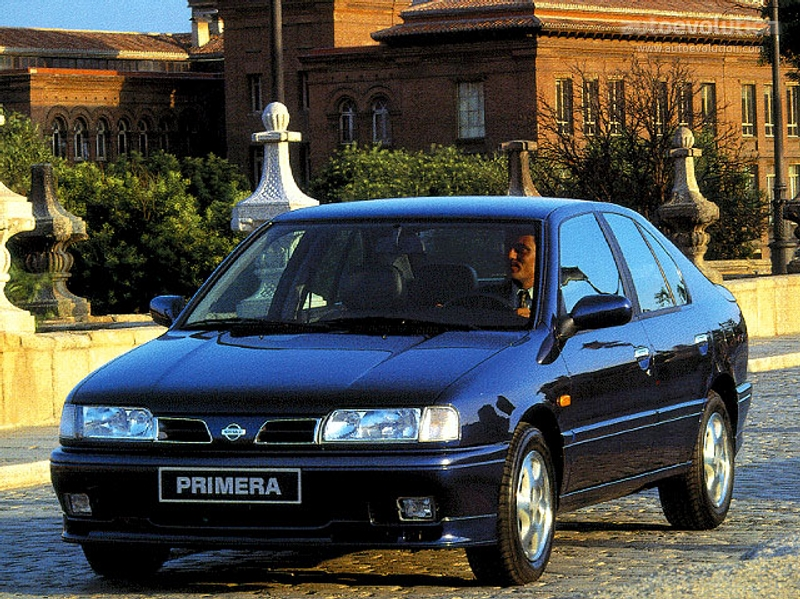 NISSAN Primera Hatchback specs & photos - 1994, 1995, 1996 ...