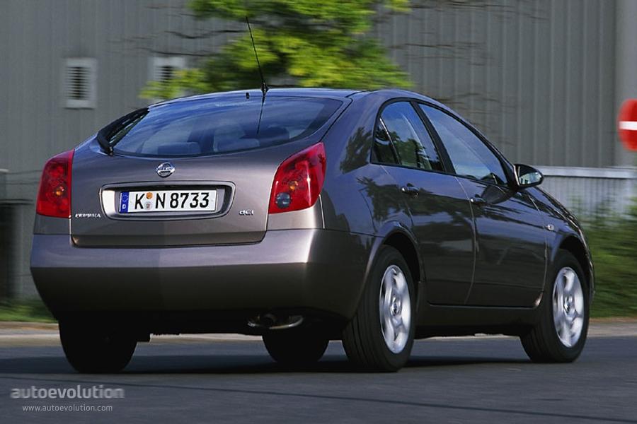 NISSAN Primera Hatchback specs - 2002, 2003, 2004, 2005, 2006, 2007, 2008, 2009, 2010, 2011 ...